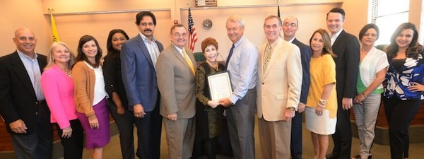 Thibodaux City Council proclamation group picture