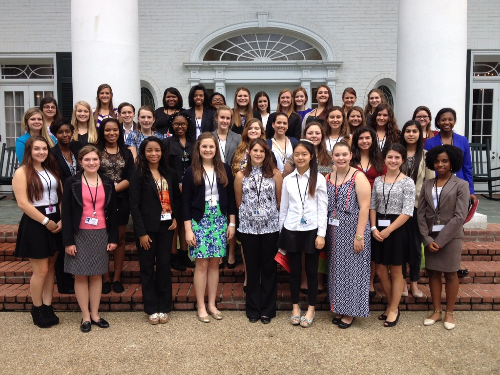 A day at the Governor's Mansion where the girls learned how to find careers in our state from Louisiana Workforce Commission and heard from their public servant, Rep. Karen St. Germain